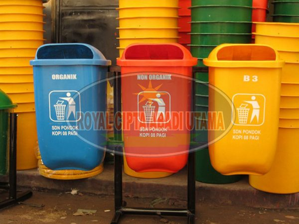 Tong Sampah All in One